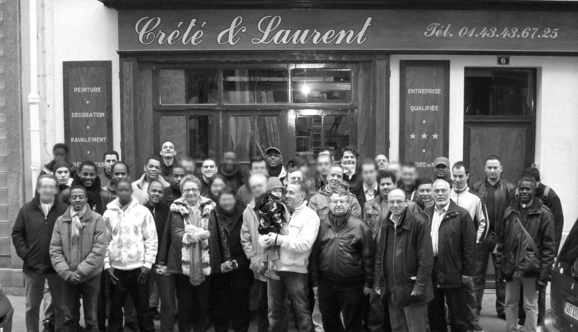 L'équipe Crété & Laurent